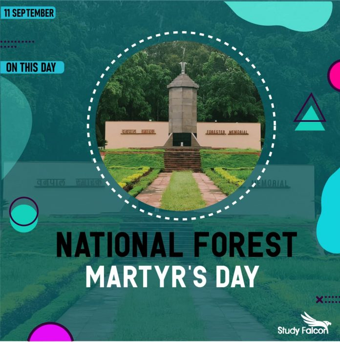 National Forest Martyr Day